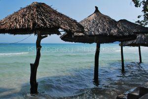 Sao Beach - Phu Quoc Island, beach umbrellas