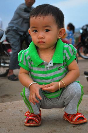 Vietnamese toddler