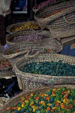 Potpourri baskets, Chefchaouen Markets