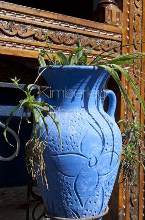 Blue urn, Chefchauoen