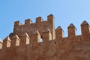 kasbah wall, Rabat